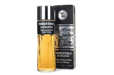 Lot 248-TOMINTOUL- GLENLIVET - PERFUME BOTTLE