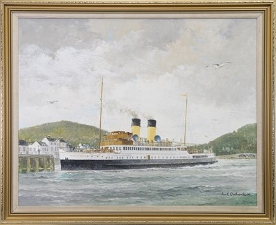 Lot 539-DUCHESS OF MONTROSE, AN OIL BY IAN ORCHARDSON