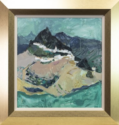 Lot 543-ZAHARA, AN OIL BY SHEILA MACMILLAN