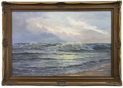 Lot 547-SEASCAPE, AN OIL BY EDGAR FREYBERG