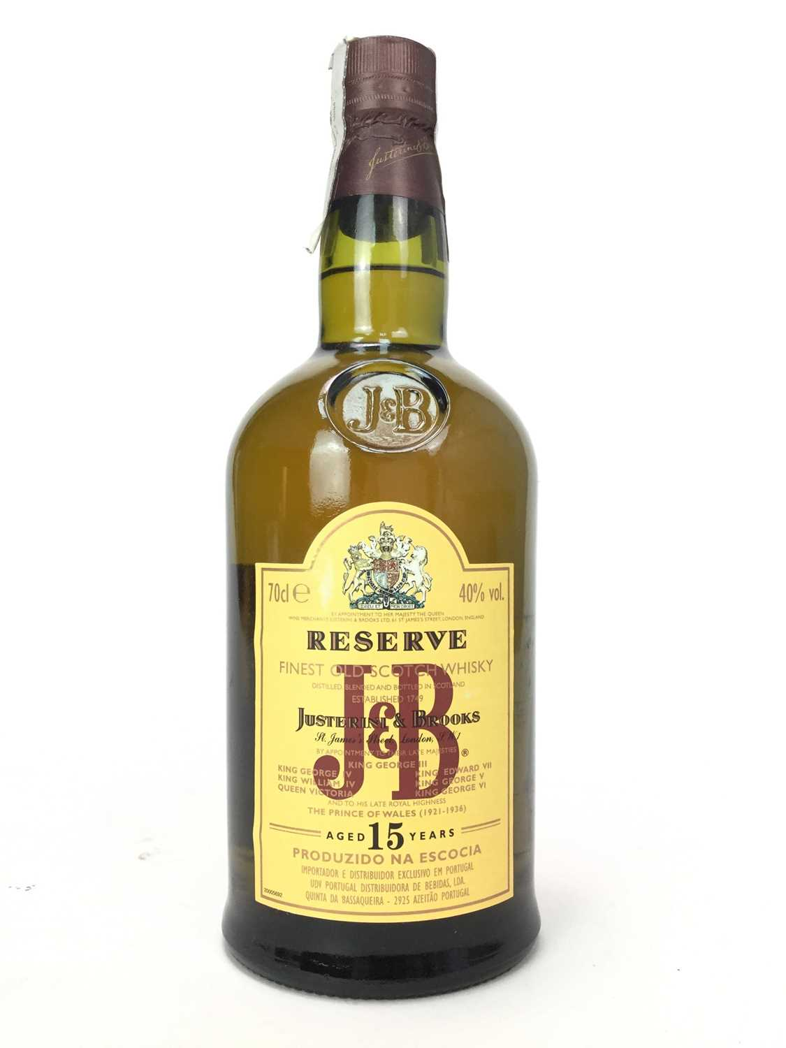 Lot 426 - J&B RESERVE AGED 15 YEARS