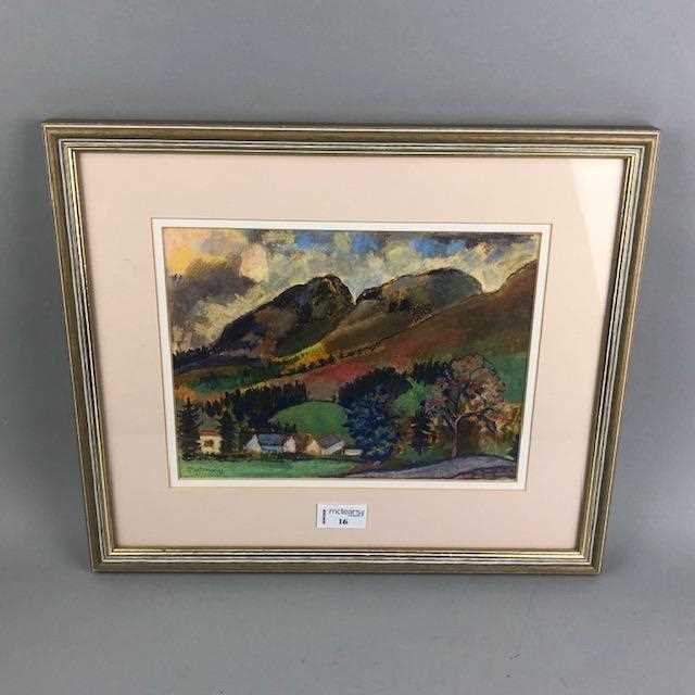 Lot 16-A LANDSCAPE BY C S RAMSAY