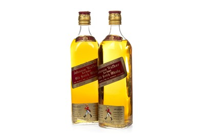 Lot 10-TWO BOTTLES OF JOHNNIE WALKER RED LABEL 1970s