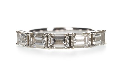 Lot 1311-A DIAMOND HALF ETERNITY RING