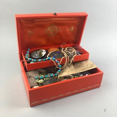 Lot 14-A COLLECTION OF COSTUME JEWELLERY