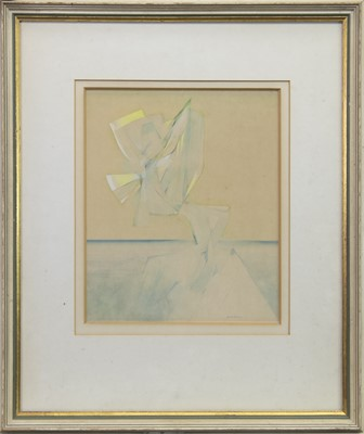 Lot 61 - NUMBER 9, EVENING IMAGE, A WATERCOLOUR BY CHARLIE BOYLE