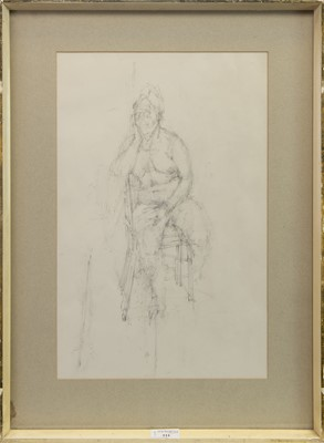 Lot 511-DRAWING ELEVEN BY MICHAEL UPTON