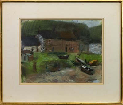 Lot 507-ETHIE MAINS, AN EARLY PASTEL BY GEORGE BIRRELL