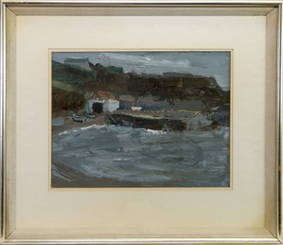 Lot 508-CATTERLINE, AN EARLY GOUACHE BY GEORGE BIRRELL