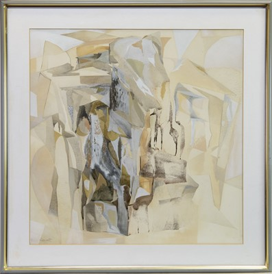 Lot 501-ABSTRACT COMPOSITION BY BARBARA REDPATH