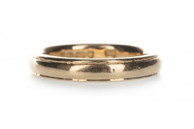 Lot 1328-A GOLD WEDDING RING