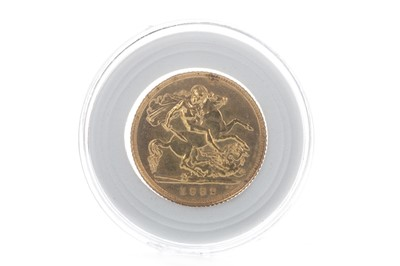 Lot 21-A QUEEN ELIZABETH II (1952 - PRESENT) GOLD SOVEREIGN DATED 1982