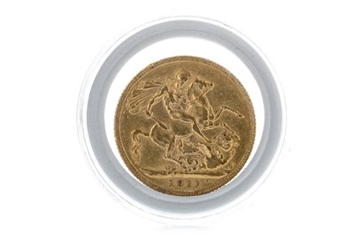 Lot 23-A GEORGE V (1910 - 1936) GOLD SOVEREIGN DATED 1911