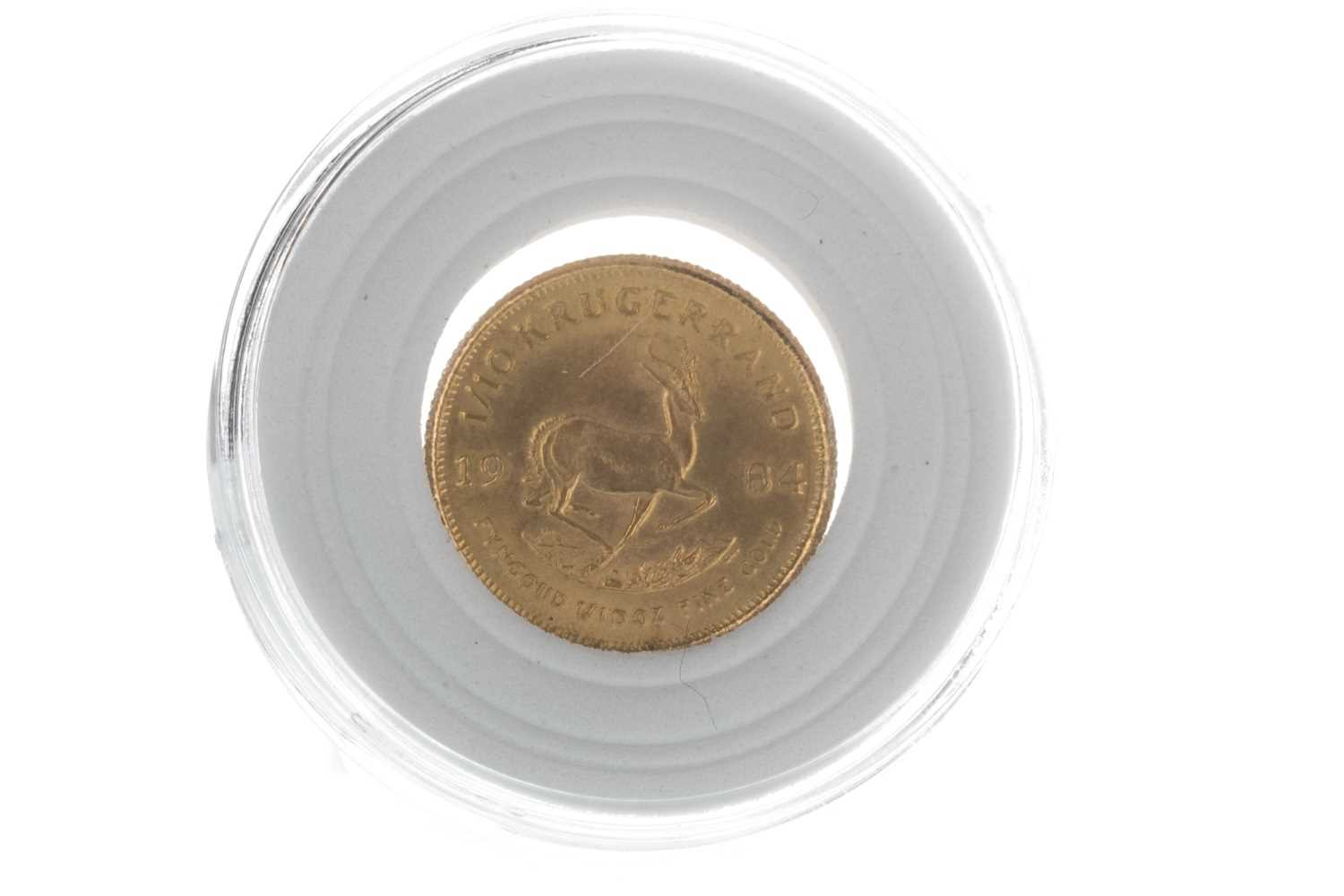 Lot 24-A 1/10oz KRUGERRAND DATED 1984