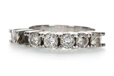 Lot 1320-A DIAMOND SIX STONE RING