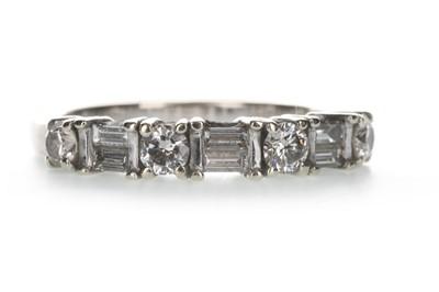 Lot 1325-A DIAMOND HALF ETERNITY RING