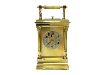 Lot 1111-A MID-20TH CENTURY REPEATER CARRIAGE CLOCK