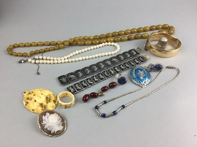 Lot 4-A COLLECTION OF SILVER AND OTHER JEWELLERY