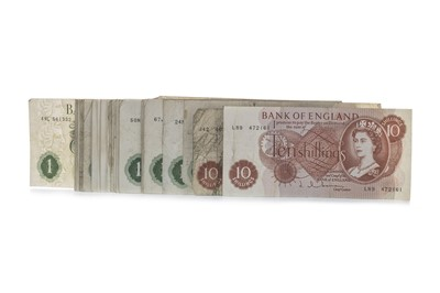 Lot 29-A COLLECTION OF BANK OF ENGLAND BANKNOTES