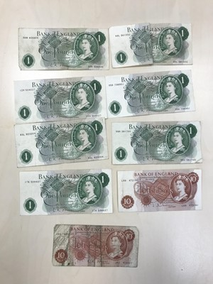 Lot 29 - A COLLECTION OF BANK OF ENGLAND BANKNOTES