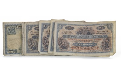 Lot 30-A COLLECTION OF SCOTTISH BANKNOTES