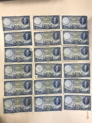 Lot 35 - A COLLECTION OF COMMERCIAL BANK OF SCOTLAND ONE POUND £1 NOTES