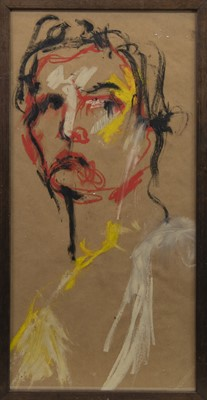 Lot 407-A CONTEMPORARY OIL HEAD STUDY