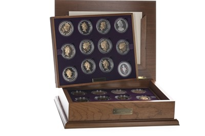 Lot 40 - THE QUEEN ELIZABETH II (1952 - PRESENT) GOLDEN JUBILEE COLLECTION SILVER COIN SET