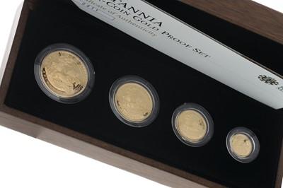 Lot 41-THE 2009 BRITANNIA FOUR COIN GOLD PROOF COIN SET