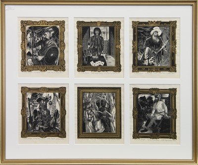 Lot 541-THE DEVIL'S DISCIPLES, WOODBLOCKS BY G W LENNOX