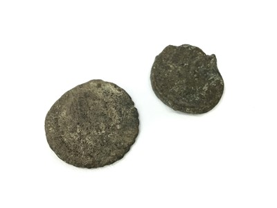 Lot 203 - TWO ANCIENT ROMAN COINS