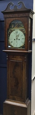 Lot 1116-A LATE VICTORIAN LONGCASE CLOCK