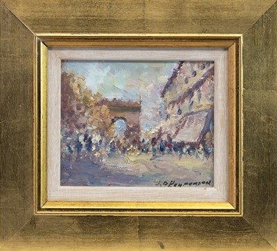 Lot 401-PARIS, AN OIL BY J D HENDERSON