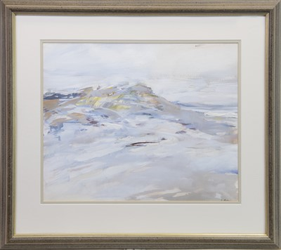 Lot 410-SANDS I (MORAR), A MIXED MEDIA BY KATHLEEN RUSSELL