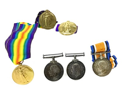 Lot 1306-A LOT OF SIX WWI MEDALS