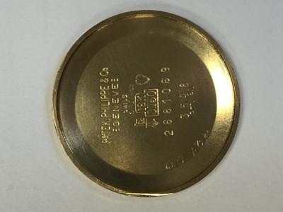 Lot 724-A GENTLEMAN'S PATEK PHILIPPE GOLDEN ELLIPSE EIGHTEEN CARAT GOLD MANUAL WIND WRIST WATCH