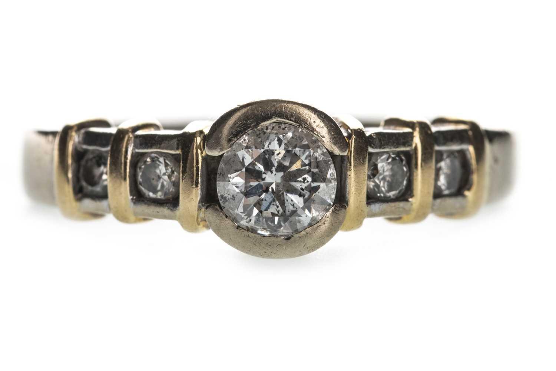 Lot 323-A DIAMOND DRESS RING