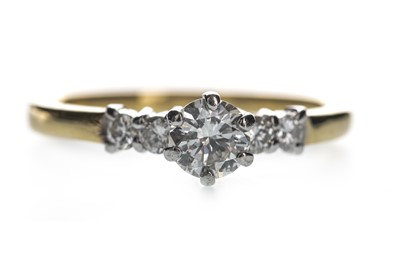 Lot 332-A DIAMOND DRESS RING