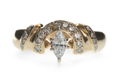 Lot 338-A DIAMOND DRESS RING