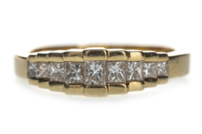 Lot 344-A DIAMOND DRESS RING