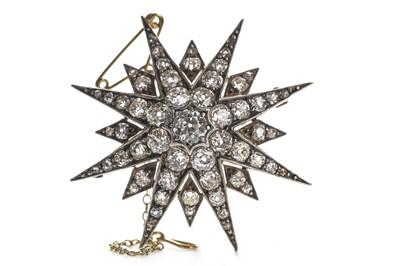 Lot 305-A DIAMOND STAR BROOCH
