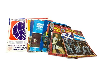 Lot 1720 - A COLLECTION OF 1960S AND 1970S FOOTBALL PROGRAMMES