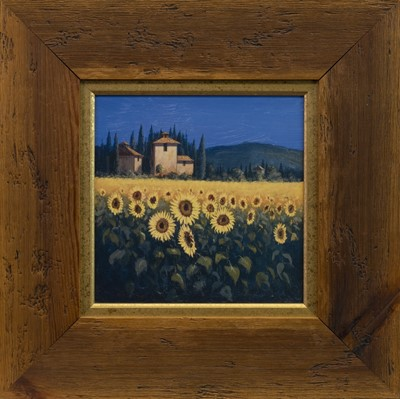 Lot 414-TUSCAN SUNFLOWERS, A DIGITAL PRINT AFTER DAVID SHORT