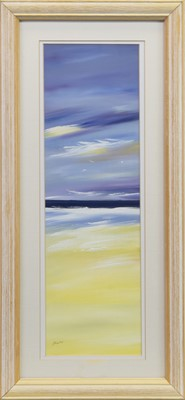 Lot 417-SEASCAPE II, AN OIL BY LILLIAS BLACKIE