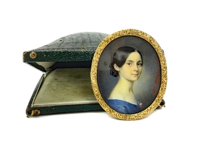 Lot 1336 - PORTRAIT OF LYDIA M FRASER, BY ALESSANDRO CITTADINI