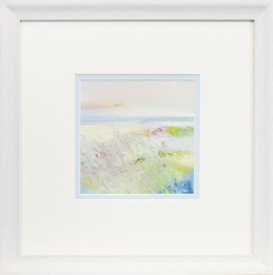 Lot 593 - PRETTY IN PINK, A MIXED MEDIA BY MAY BYRNE