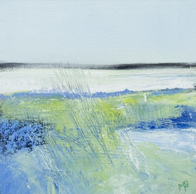 Lot 588 - WAVING IN THE WIND, A MIXED MEDIA BY MAY BYRNE