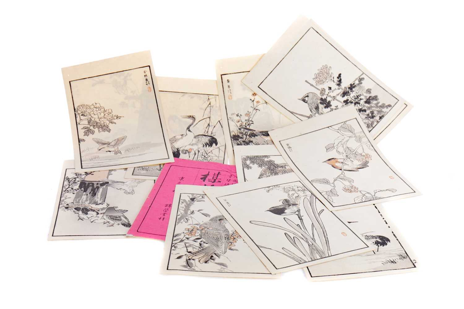 Lot 818 - A COLLECTION OF CHINESE PRINTS