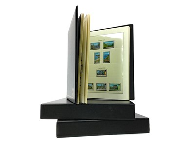 Lot 1343 - A COLLECTION OF THE BAILIWICK OF GUERNSEY STAMP ALBUMS