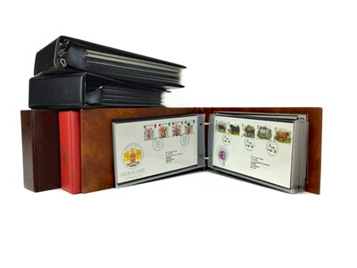 Lot 1351 - A LOT OF TWELVE ALBUMS OF FIRST DAY COVERS